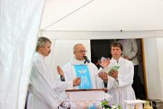 Vysviacka kaplnky a kríža – Sliacka Poľana 4. 10. 2014