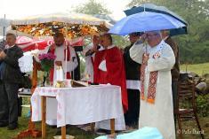 Posvätenie cintorína – Blýskavica 14. 8. 2013
