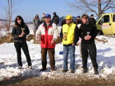 Rally Kňazovka 1. 3. 2009